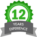 12 yers experience
